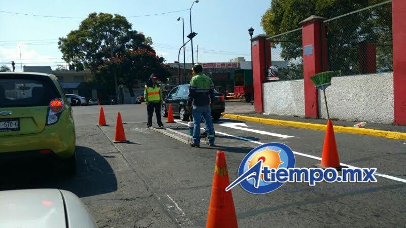Se recomienda a automovilistas, trabajadores del volante y usuarios del transporte público tomar las debidas precauciones (FOTO: FRANCISCO ALBERTO SOTOMAYOR)