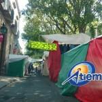 Vaya un llamado a las autoridades municipales para que pongan orden en la zona (FOTO: FRANCISCO ALBERTO SOTOMAYOR)