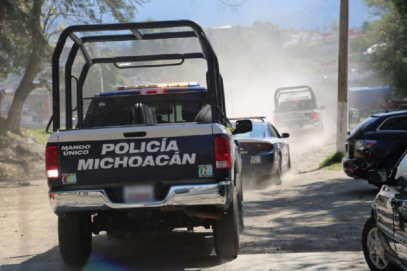 Fuerzas federales y estatales ya implementaron un fuerte operativo en la zona para dar con los responsables de la emboscada (INFORMACIÓN: FRANCISCO ALBERTO SOTOMAYOR)