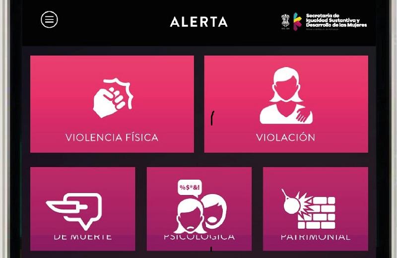 Corona Martínez informó que cuando una mujer envíe la alerta, en tiempo real llegará a los operadores del C5 con su nombre, número de teléfono y ubicación exacta vía GPS