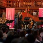 El repertorio estuvo compuesto por obras de compositores alemanes como Johann Friedrich Fasch, Carl Philipp Emanuel Bach y Georg Philipp Telemann