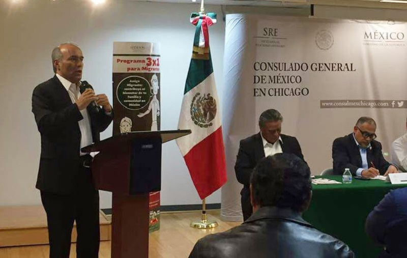 El funcionario michoacano puso en marcha la estrategia Conoce tus derechos, programa de protección, entrenamiento e información sobre los derechos básicos con los que cuentan todos los ciudadanos que radiquen en Estados Unidos sin importar su estatus migratorio