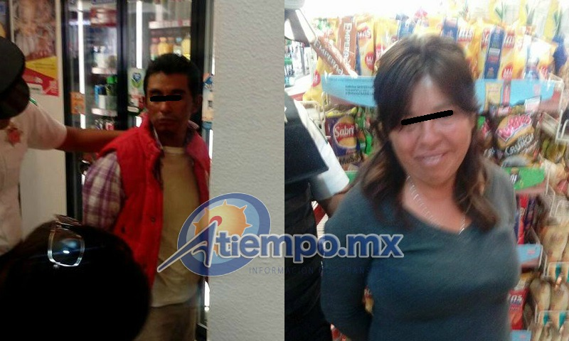 La pareja fue remitida a barandilla por la Policía Municipal de la capital michoacana (FOTOS: FRANCISCO ALBERTO SOTOMAYOR)