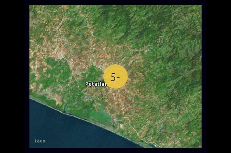 El temblor fue muy poco perceptible o imperceptible para la mayoría de la población