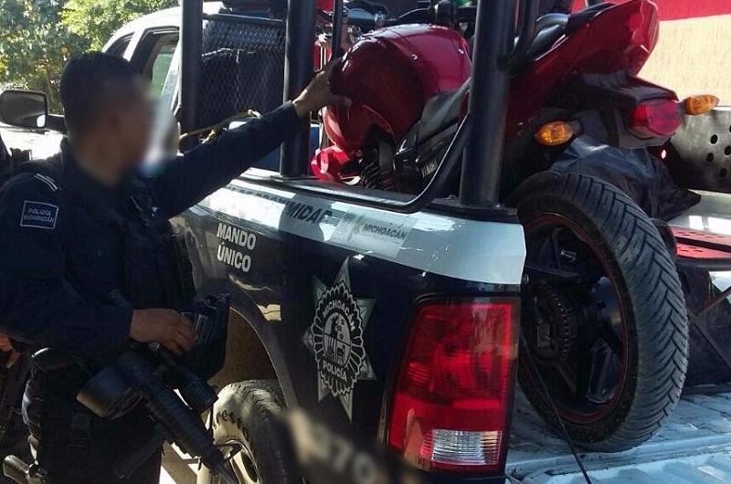 Los presuntos implicados, armas de fuego y vehículos fueron puestos a disposición de la autoridad competente
