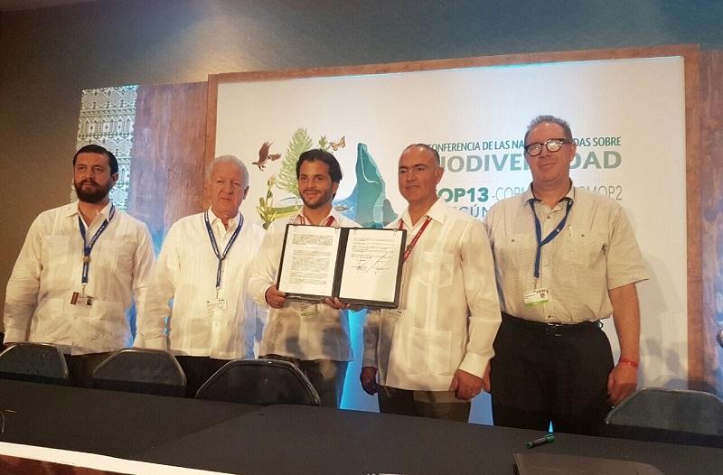 El Gobierno del Estado, que encabeza el gobernador Silvano Aureoles Conejo, refrenda su compromiso con el desarrollo sustentable y la protección de los recursos naturales