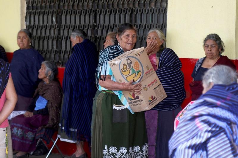 Cabe destacar que el contenido nutricional fue seleccionado por especialistas de la Secretaría de Salud de Michoacán, y se basa en una dieta que pueda contribuir en atacar las enfermedades crónicas que afectan a las personas de la tercera edad
