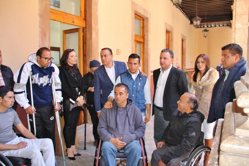 Los Halcones de Morelia señalaron que el recurso con que se les apoyó será empleado para reparación y mantenimiento de sus sillas de ruedas