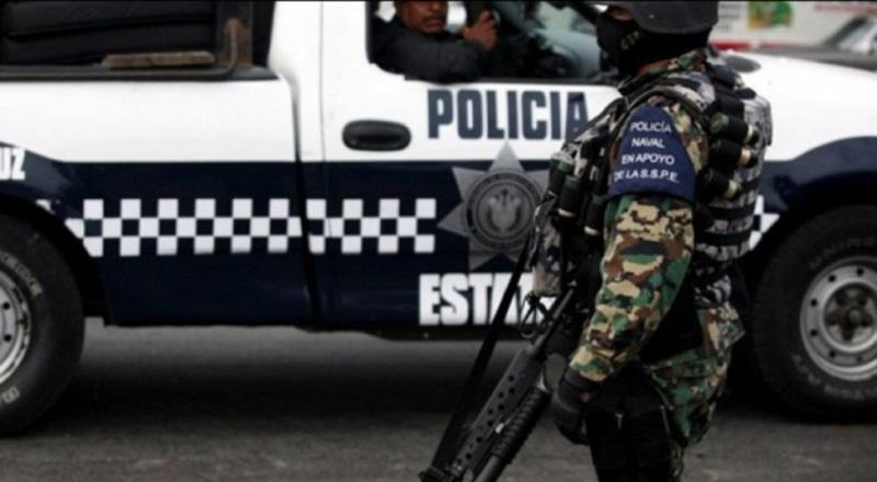 Además de las pérdidas humanas, una patrulla de la Policía Estatal con número económico 08-0846 resultó destrozada por los múltiples impactos de bala recibidos
