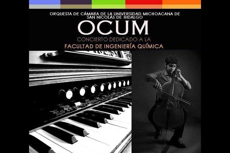 El concierto iniciará en punto de las 20:00 horas en el Auditorio Nicolaita del Centro Cultural Universitario con entrada libre y la recomendación de no llevar a menores de 5 años