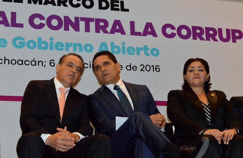 Lo anterior, al asistir a la inauguración del Foro de Gobierno Abierto, celebrado en el marco del Día Nacional Contra la Corrupción