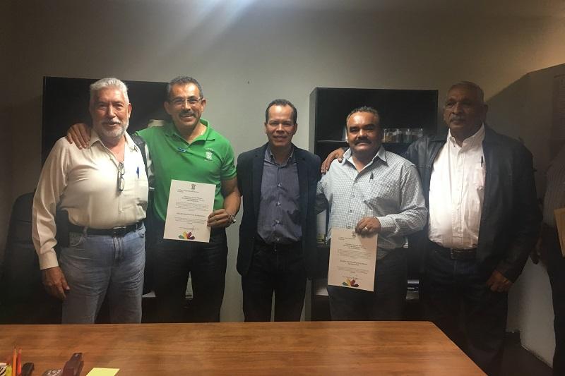 Los nombramientos los dio a conocer el subsecretario Rubén Medina Niño, quien dio la bienvenida a los nuevos funcionarios