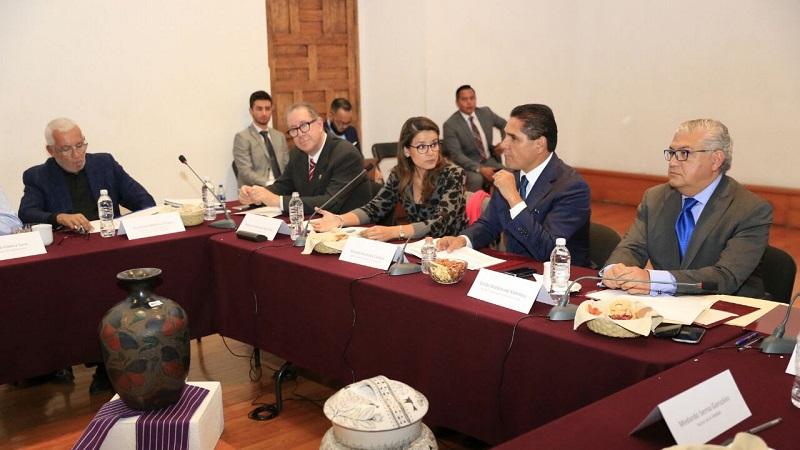 Silvano Aureoles destacó el trabajo coordinado que ha existido entre el Gobierno del Estado y la Federación, en beneficio de las y los michoacanos