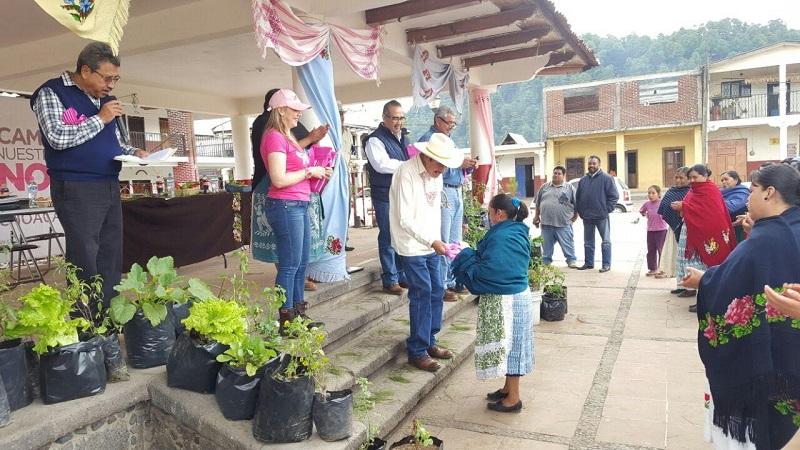 La SAGARPA ha destinado más de 11 mdp para apoyar a la ciudadanía dentro de este componente, en beneficio de más de mil 500 familias michoacanas