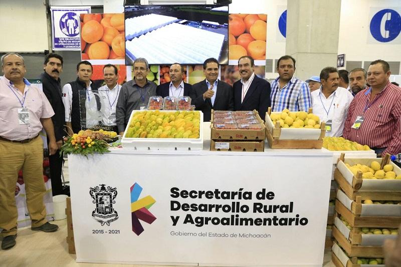 La Expo Alimentaria durará tres días y estiman registrar ventas superiores a los 20 mil millones de pesos, con el objeto de apoyar y potencializar el sector agroalimentario en el país