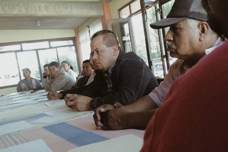 El legislador expuso el trabajo que en favor de las comunidades se ha hecho desde el Congreso del Estado y reiteró que a las propuestas que le hicieron les dará seguimiento