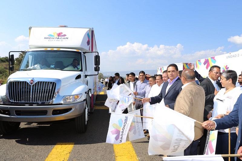 Aureoles Conejo reiteró que la salud es prioridad para su administración, por lo que trabajan para mejorar las condiciones de vida de los sectores vulnerables