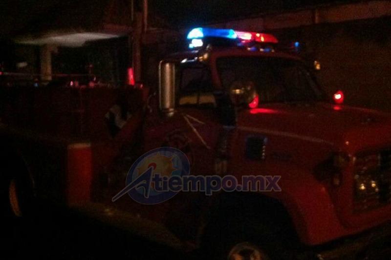 En las acciones también participaron elementos de la Policía Municipal de Paracho (FOTO: FRANCISCO ALBERTO SOTOMAYOR)