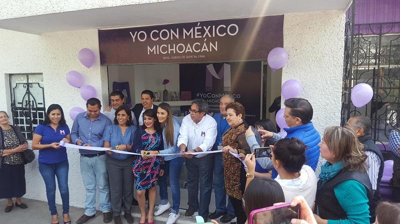 Margarita Zavala reconoció que 2017 será un año muy importante para el país y para este proyecto, por lo que  agradeció el esfuerzo de quienes se han integrado a las redes ciudadanas en el estado