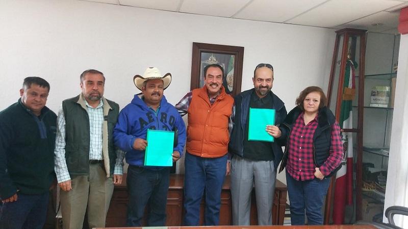 Los incentivos se otorgaron a productores de los municipios de Apatzingán, Parácuaro, La Huacana e Irimbo, con una inversión de dos millones 391 mil 860 pesos