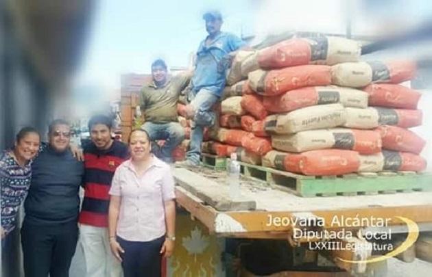 Alcántar Baca realizó una gira de trabajo por el Distrito de Hidalgo