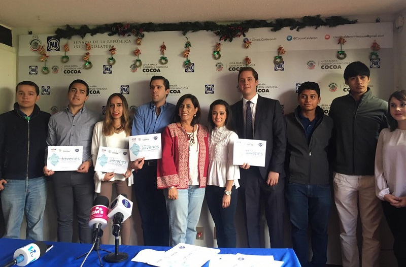 Los jóvenes están alejados de la política y lo que interesa es que participen y se involucren de manera directa y activa: Luisa María Calderón