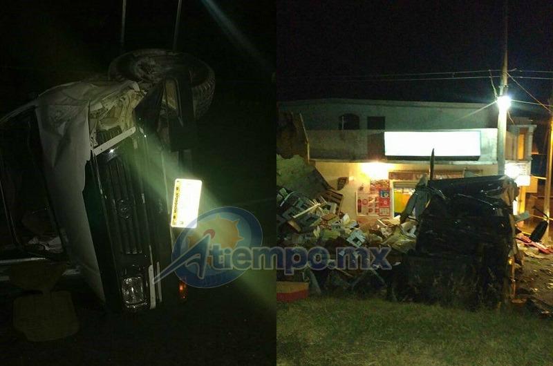 El accidente fue atendido por la ABEM, en coordinación con Protección Civil Municipal de Zinapécuaro (FOTO: FRANCISCO ALBERTO SOTOMAYOR)