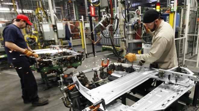 A nivel nacional, la actividad industrial registró una variación de 0.2 puntos porcentuales en el lapso