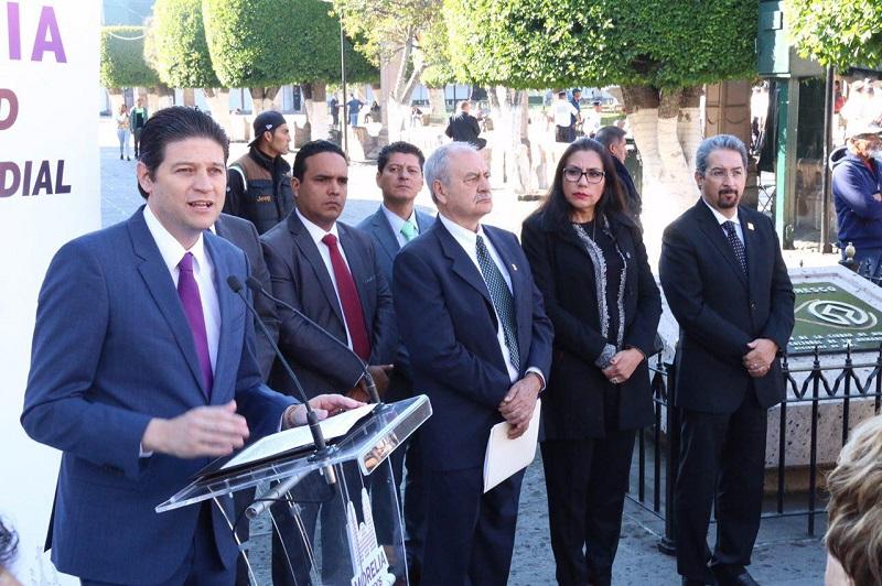 """Martínez Alcázar exhortó a la población a ser """"guardianes y custodios"""" de su ciudad, con el fin de mantener el estatus de """"Ciudad Patrimonio"""""""
