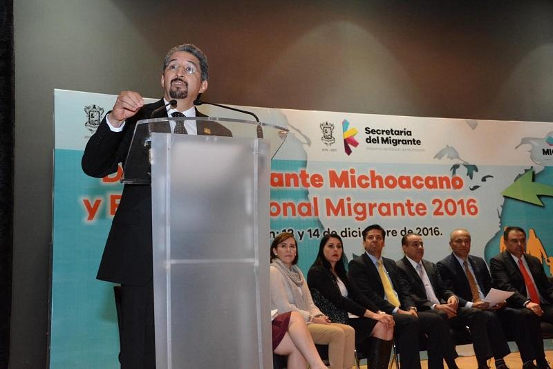 Presente la Casa de Hidalgo durante la inauguración del Foro Binacional Migrante 2016