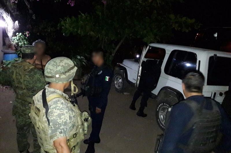 Las labores operativas continúan en la región de Tierra Caliente para garantizar la seguridad de las y los ciudadanos