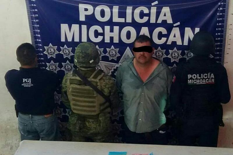 """Ramón C. """"La Mami"""" fue detenido en Buenavista; se presume que es el segundo al mando de una célula delictiva al mando de """"El Morisqueto"""""""