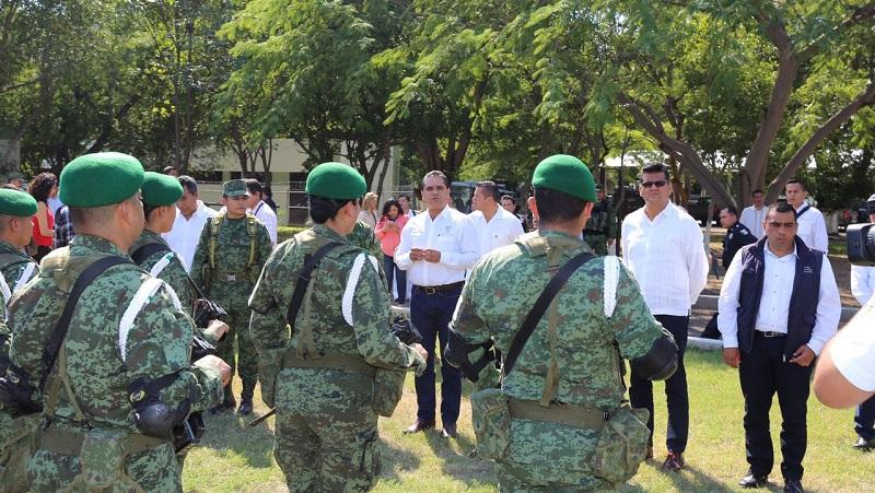 La estrategia se establecerá en los diez municipios que concentran el mayor número de delitos en la entidad: Aureoles Conejo