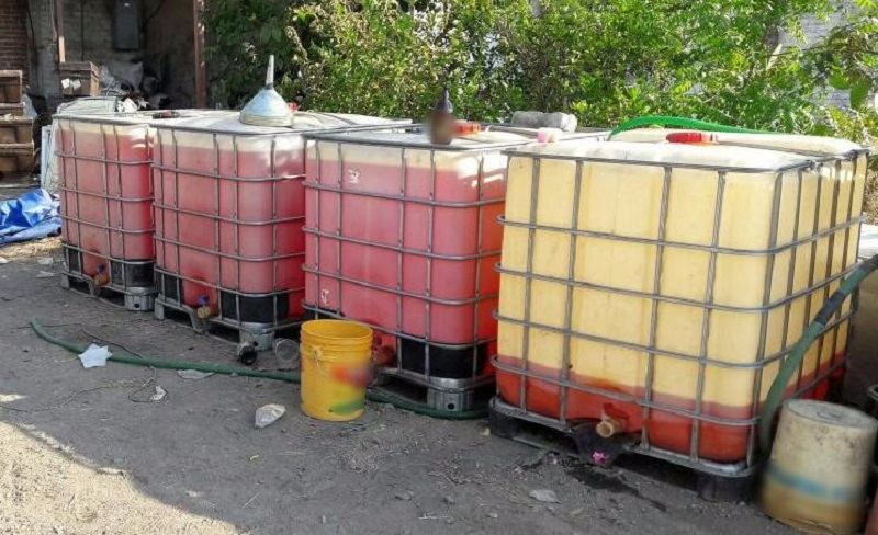 El hidrocarburo fue puesto a disposición de la autoridad competente