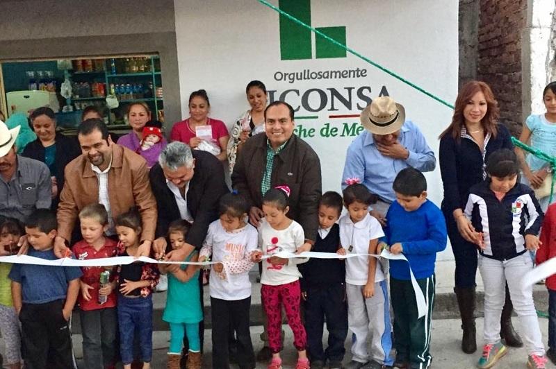 Gerónimo Color Gasca refrendó su compromiso para el año entrante de reforzar las jornadas de incorporación de beneficiarios LICONSA a los programas que se ofrecen puntualmente