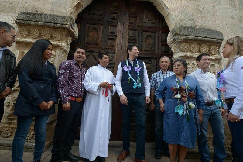 El alcalde Alfonso Martínez enfatizó el interés del Gobierno Municipal por continuar con la preservación y conservación del patrimonio de los morelianos