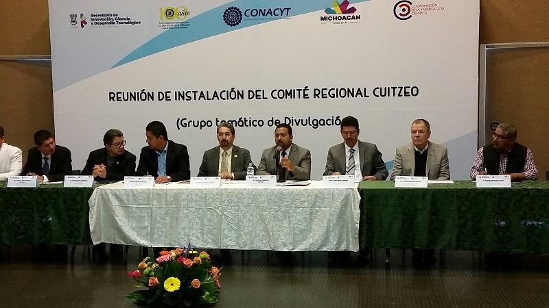 Fue instalado el último de los 10 Comité Regionales, correspondiente a la Región Cuitzeo