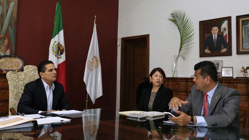 Aureoles Conejo enfatizó que es necesario redoblar esfuerzos en las acciones que involucran la participación de la ciudadanía