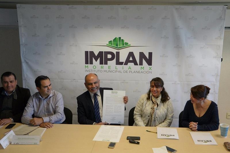 El Director del IMPLAN agregó que esta iniciativa corresponde además a la unión de fuerzas con el Ayuntamiento de Morelia a través del plan de Gran Visión, Morelia NExT