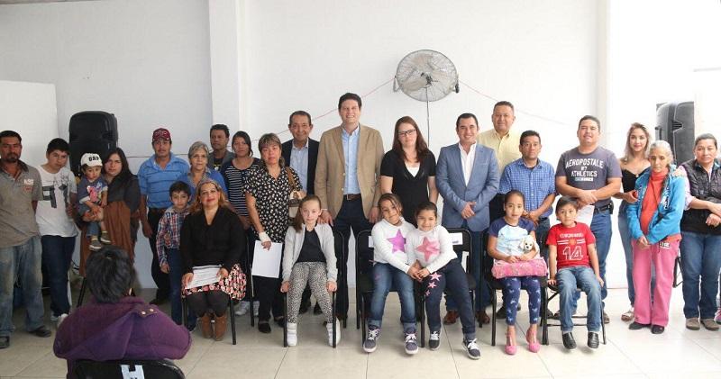 Bajo este esquema el Delegado de la SEDESOL, Víctor Manuel Tapia Castañeda, agradeció el apoyo del Ayuntamiento para poder integrar el padrón de beneficiados