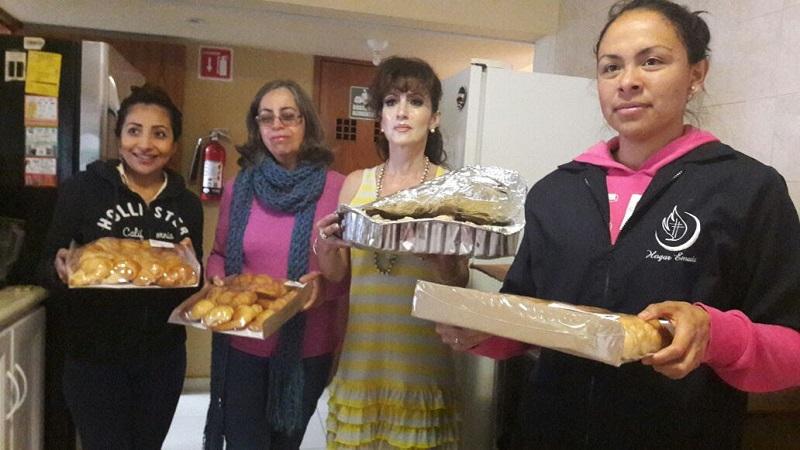 Las señoras Ivonne Ríos y Emma del Sagrario, comentaron que la labor social es una tarea que se debe fomentar en favor de las personas que requieren de ayuda