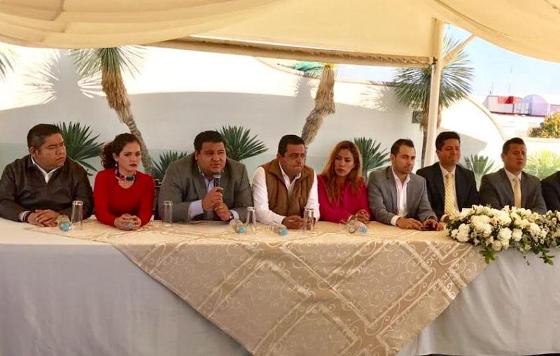 """Puebla Arévalo resaltó que sea en conjunto entre el Comité Estatal del PRD y el Grupo Parlamentario del PRD cómo se apoye esta medida, """"ello es muestra de un trabajo consensuado y coordinado"""""""