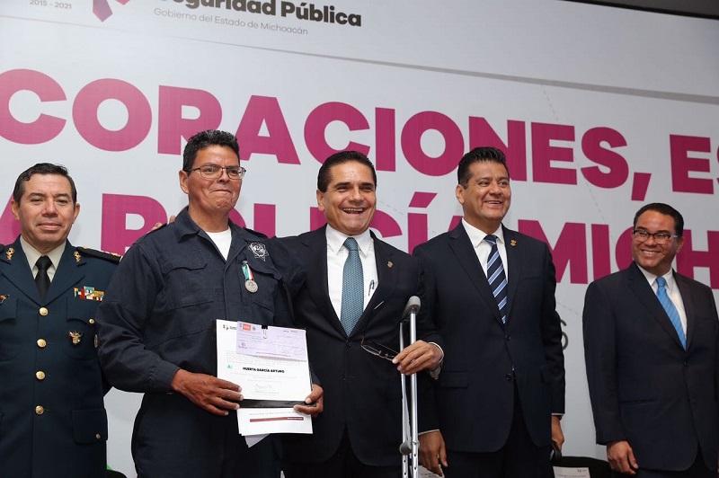 Aureoles Conejo llamó a los poderes a privilegiar la seguridad pública
