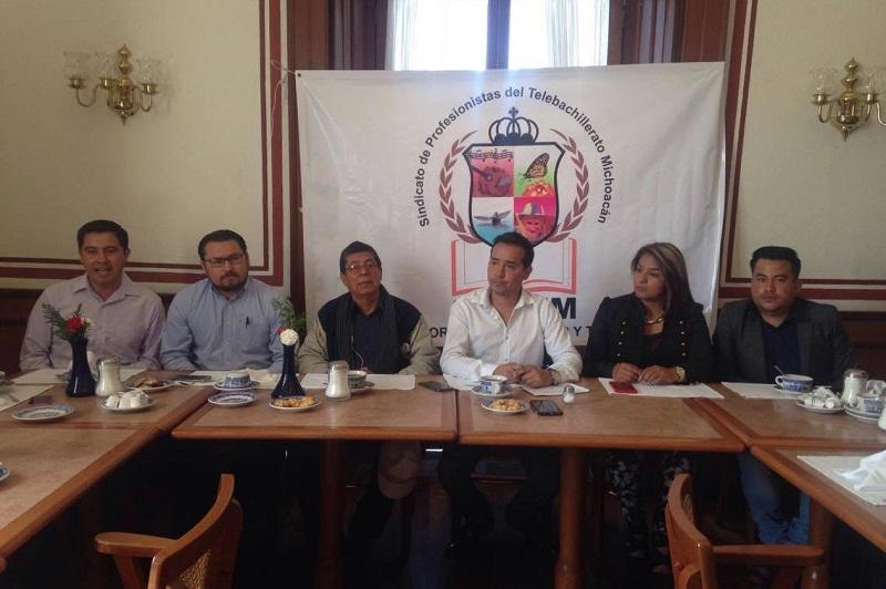 El Secretario General del SIPTEM anunció que acudirán ante la LXXIII Legislatura de Michoacán, para solicitar un incremento al Presupuesto Anual, y que éste pase de 126 millones de pesos a 160 millones de pesos
