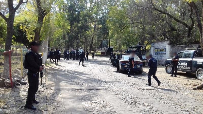 El despliegue operativo se mantendrá para garantizar las medidas de seguridad a los habitantes de estas zonas