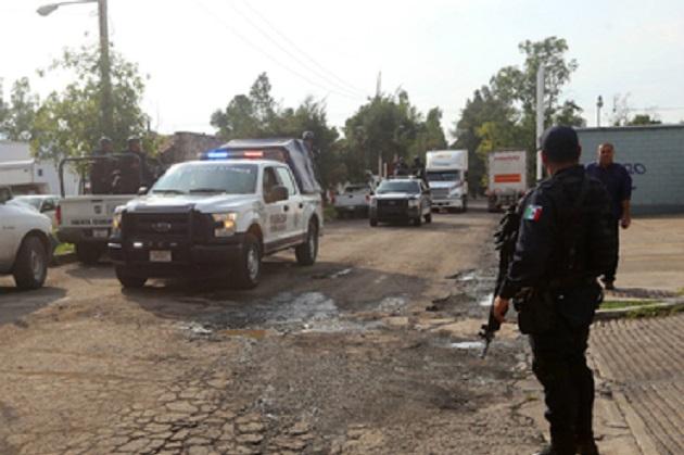 Los detenidos, armas y vehículos, fueron puestos a disposición de la Fiscalía Regional misma que resolverá su situación jurídica, mientras que el inmueble fue asegurado a efecto de continuar con las investigaciones