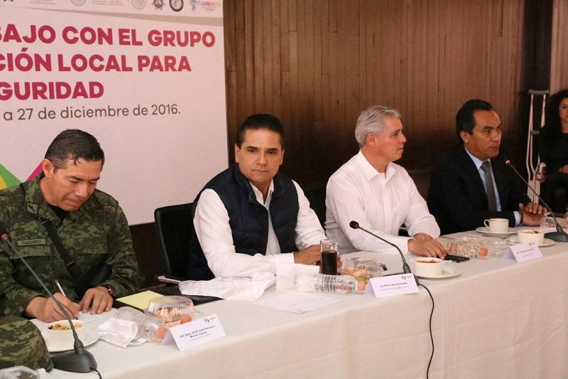 Aureoles Conejo aseveró que las acciones de blindaje de los límites con el estado de Jalisco se mantendrán hasta que sea necesario