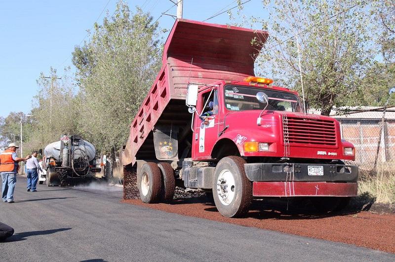 950 mil pesos destinó el Ayuntamiento de Morelia este 2016, para la reparación vial en la zona