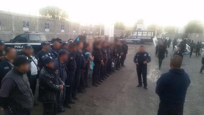 En cuanto cumplieron las 36 horas que marca la ley en el arresto administrativo, los elementos regresaron a su municipio donde continúan con sus labores de vigilancia