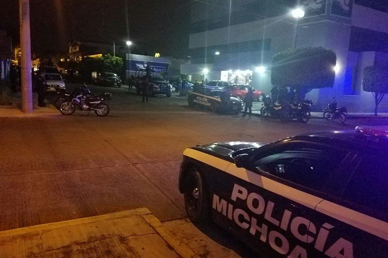 En esta acción intervinieron elementos de la Policía Michoacán, así como del Ejército, Policía Federal, Procuraduría General de Justicia del Estado y del Centro de Investigación y Seguridad Nacional